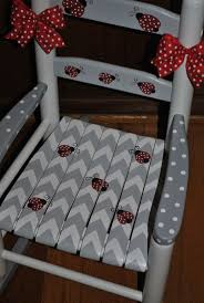 Ladybug Rocking Chair Ideas About Painted Childs Chair On Pinterest Little Girls Rocking