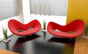 Smart House Ideas Fancy Smart Home Decoration With Red Furniture Playuna