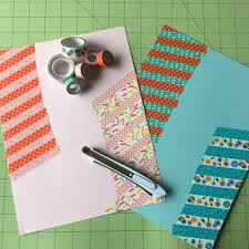 10 minute craft project diy animal shaped washi tape bookmarks