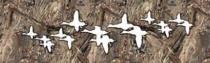 Mallards Duck Blind Game Birds Rear Window Graphics U0026 Back Window Decals