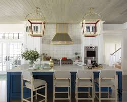 blue kitchen island cabinets how to style blue kitchen cabinets in 2020 on roomhints