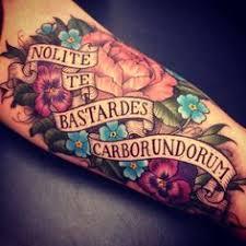 my new latin tattoo in byron font tattoos pinterest latin