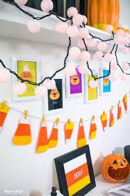 Diy Halloween Wall Decorations Diy Candy Corn Desk Decor