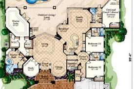 7 mediterranean house plans courtyard pool mediterranean