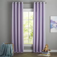 Blackout Purple Curtains Modern Purple Curtains Drapes Allmodern