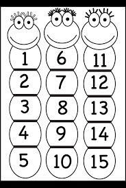 number chart 1 15 free printable worksheets u2013 worksheetfun