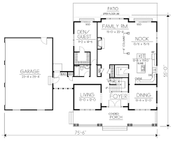 craftsman style house plan 5 beds 3 00 baths 3505 sq ft plan