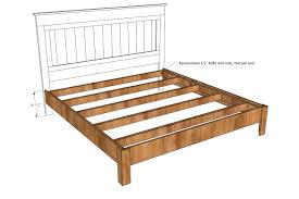 Best 25 Farmhouse Bed Frames by Top 25 Best Diy Queen Bed Frame Ideas On Pinterest Inside Plans
