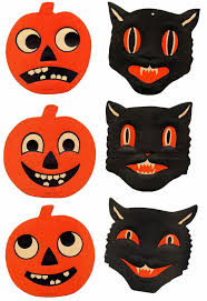 Vintage Halloween Decorations 847 Best Vintage Holiday Decorations Images On Pinterest Vintage