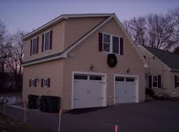 jws custom decks garages603 494 3299 cape style garage with bonus room
