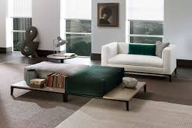 Taylor King Sofas by Contemporary Footrest Fabric Leather Wooden Taylor