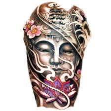 temporary tattoo buddha buddha colour 1 artwear tattoo