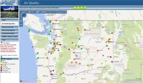 a map of oregon wildfires oregon fires smoke out seattle tuesday seattlepi