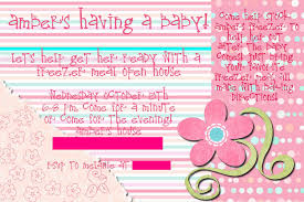 baby shower invitation wording for open house baby shower diy