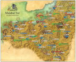 Pathfinder World Map by Malabal Tor Aldmeri Dominion The Elder Scrolls Online Game