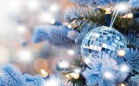 Blue White And Silver Christmas Tree - silver christmas tree wallpaper cheminee website