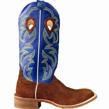 twisted x s boots twisted x boots ruff stock royal blue and cognac hippo cowboy boots