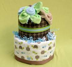 simple diaper cakes baby shower decorations for boys or girls