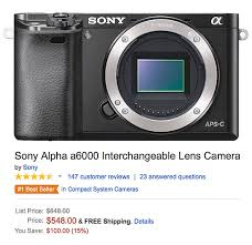 black friday deals on cameras sony black friday savings