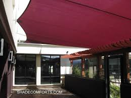 shade sails california commercial patio courtyard