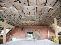 isolation plafond chambre plâtre