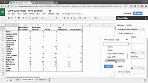 Create A Doc Spreadsheet Create Pivot Tables And Charts In Sheets