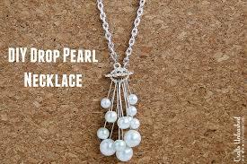 easy pearl bracelet images Diy pearl necklace step by step crafts unleashed jpg