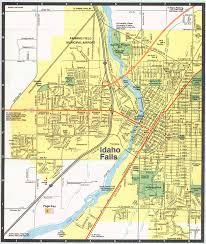 Idaho State Map by Idaho Falls Idaho City Map Idaho Falls Idaho U2022 Mappery
