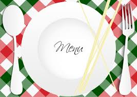 vintage menu vector poster fork plate free vector in encapsulated