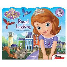 sofia royal lessons lift flap book shopdisney