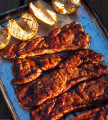 country style pork ribs with chipotle cherry barbecue sauce