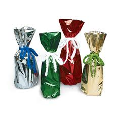 metallic gift bags metallic mylar gift bags for 750ml to 1l bottles mumm products