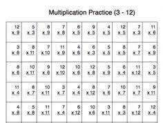 basic multiplication practice sheets multiplication practice