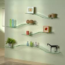 Wall Shelves Decor by Decorative Modern Wall Shelves Glass Wall Shelves Modern Glass