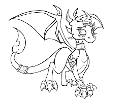 coloring download spyro the dragon coloring pages spyro the