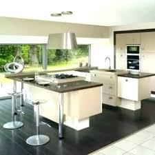 photo cuisine avec ilot central table de cuisine escamotable ilot cuisine table cuisine acquipace