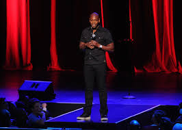comedian dave chappelle marks comeback with radio city music hall