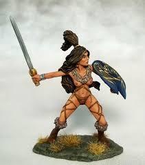 amazon warrior amazon warrior with sword and shield