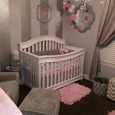 Pink And Gray Nursery Decor 17 Pink Gray Nursery Decor Baby Gray White And Pink Nursery