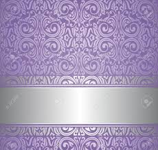 violet and silver luxury vintage wallpaper royalty free cliparts