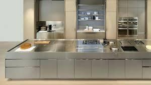 plan de travail inox cuisine cuisine plan de travail inox cuisine avec plan de travail en inox