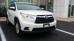 toyota awd used 2015 toyota highlander xle awd in amherst used inventory