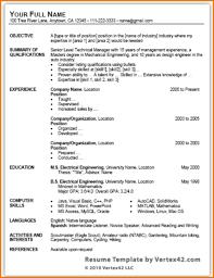 Microsoft Word Free Resume Templates Free Resume Templates Word Document Resume Word Templates Resume