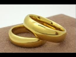 wedding ring designs gold saudi gold wedding ring design