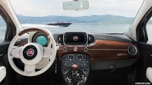 Fiat 500 Interior 2017 Fiat 500 Riva Color Sera Blue Interior Cockpit Hd