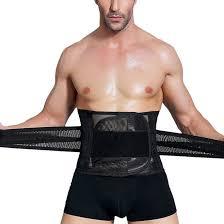 belly belt designer men s adjustable waist support high elasticity breathable