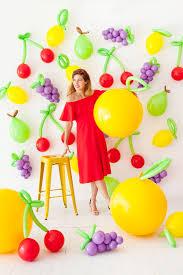 oversize balloons diy balloon fruit