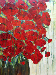 Vase With Red Poppies Archives