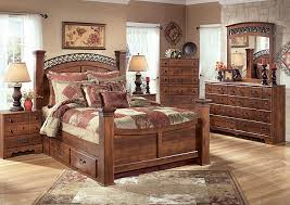 National Furniture Outlet Westwego La Timberline Queen Poster