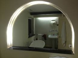 Shaped Bathroom Mirrors by Shaped Bathroom Mirror Recess Glass U0026 Glazing Solutions